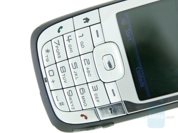 Numeric keyboard - HTC S710 Vox Review