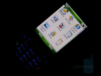 Backlight On - HTC S710 Vox Review