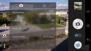 Sony Xperia Z1 camera UI - Sony Xperia Z2 vs Sony Xperia Z1
