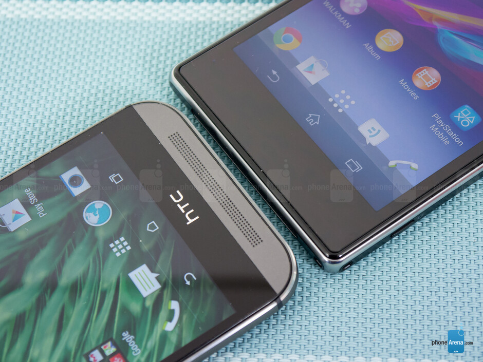 HTC One (M8) vs Sony Xperia Z1S