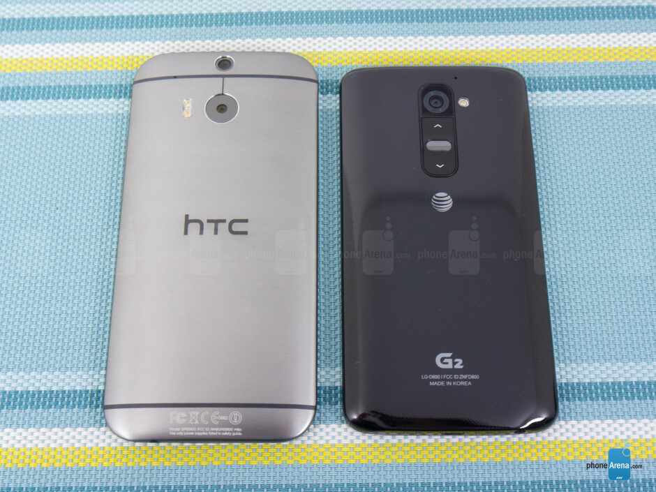 HTC One (M8) vs LG G2