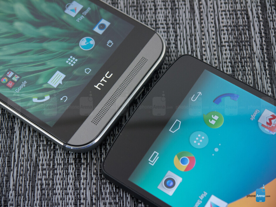 HTC One (M8) vs Google Nexus 5