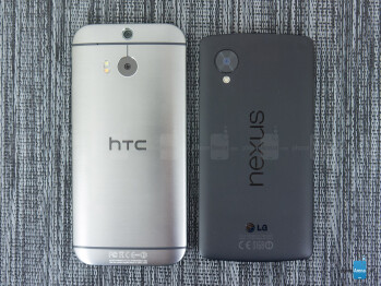 HTC One (M8) vs Google Nexus 5