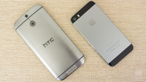 HTC One (M8) vs Apple iPhone 5s