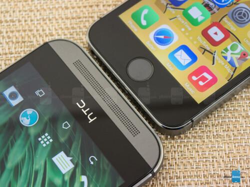 HTC One (M8) vs Apple iPhone 5s