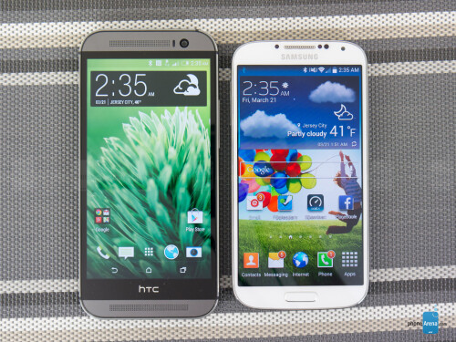HTC One (M8) vs Samsung Galaxy S4