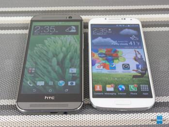 HTC One (M8) vs Samsung Galaxy S4