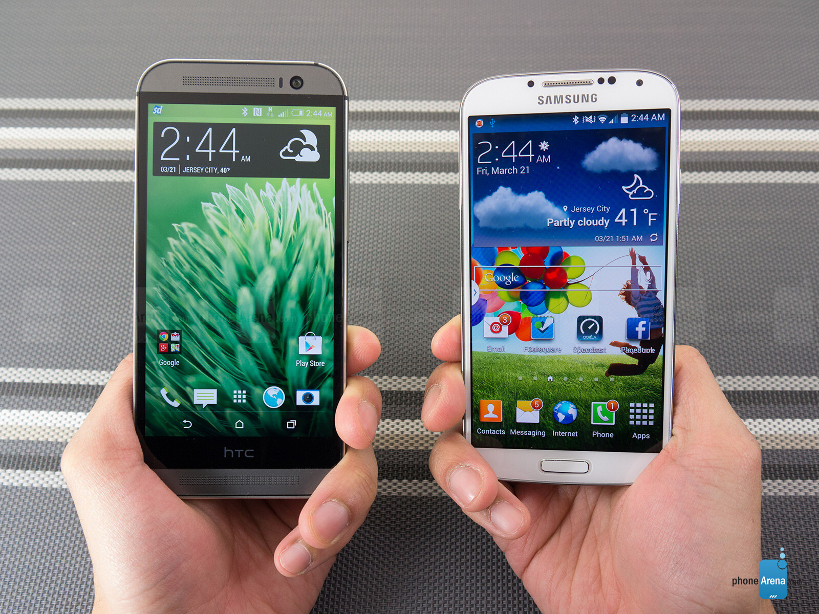 Htc One m8 vs Samsung Galaxy