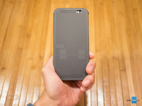 HTC One (M8) Dot View Case Review