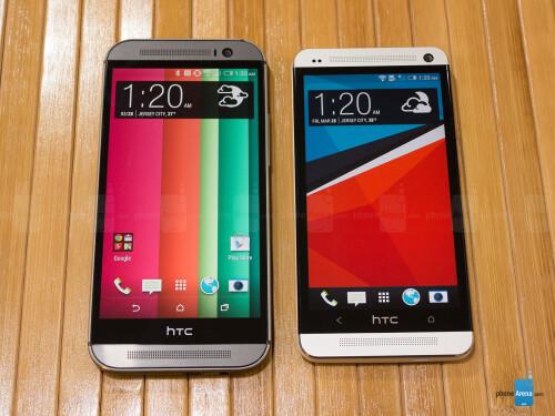 HTC One (M8) vs HTC One (M7)