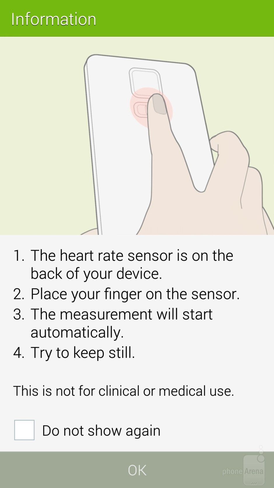 The S Health app and heart rate monitor of the Galaxy S5 - Samsung Galaxy S5 vs Google Nexus 5