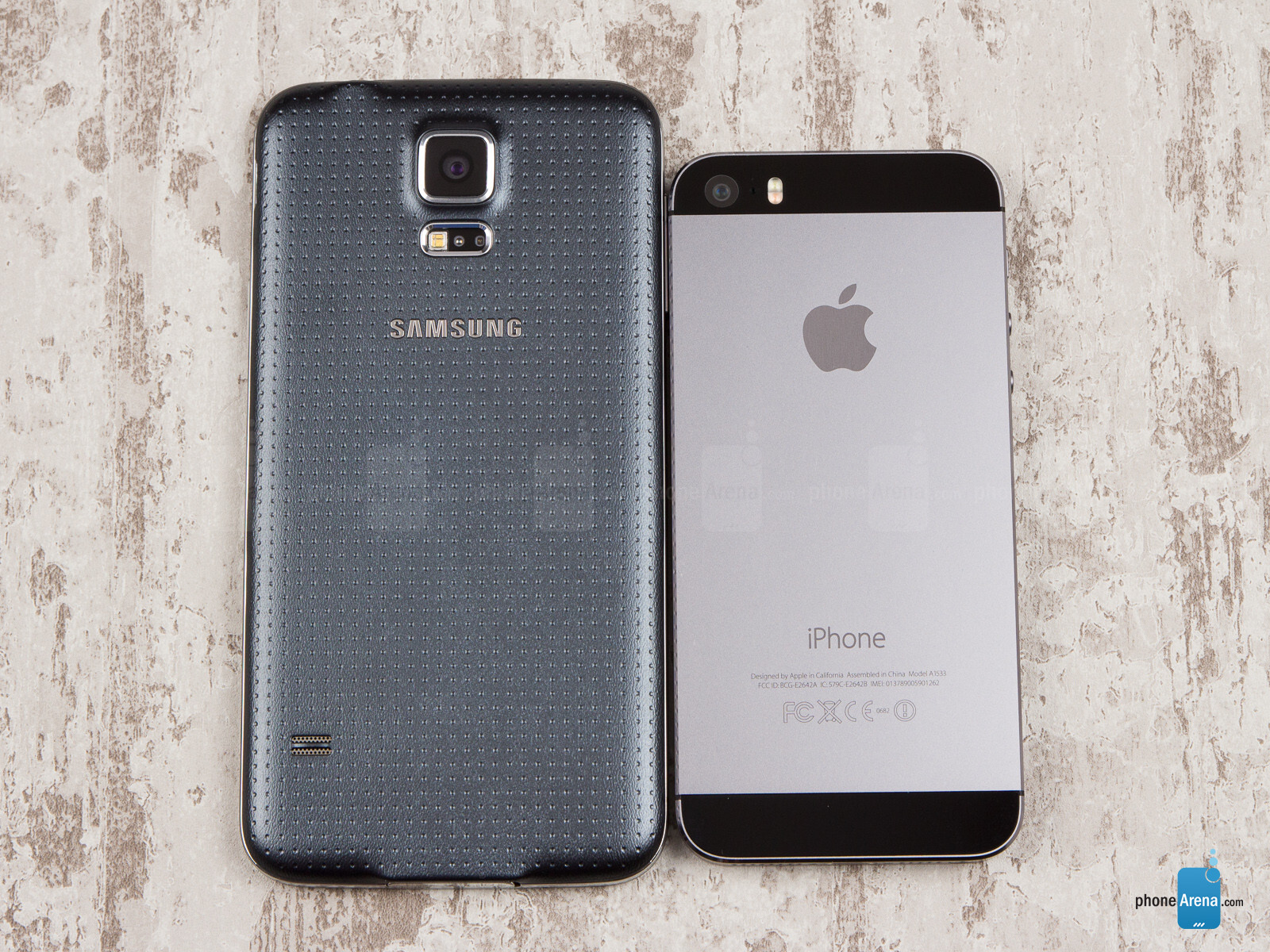 Samsung galaxy s5 of iphone 5s