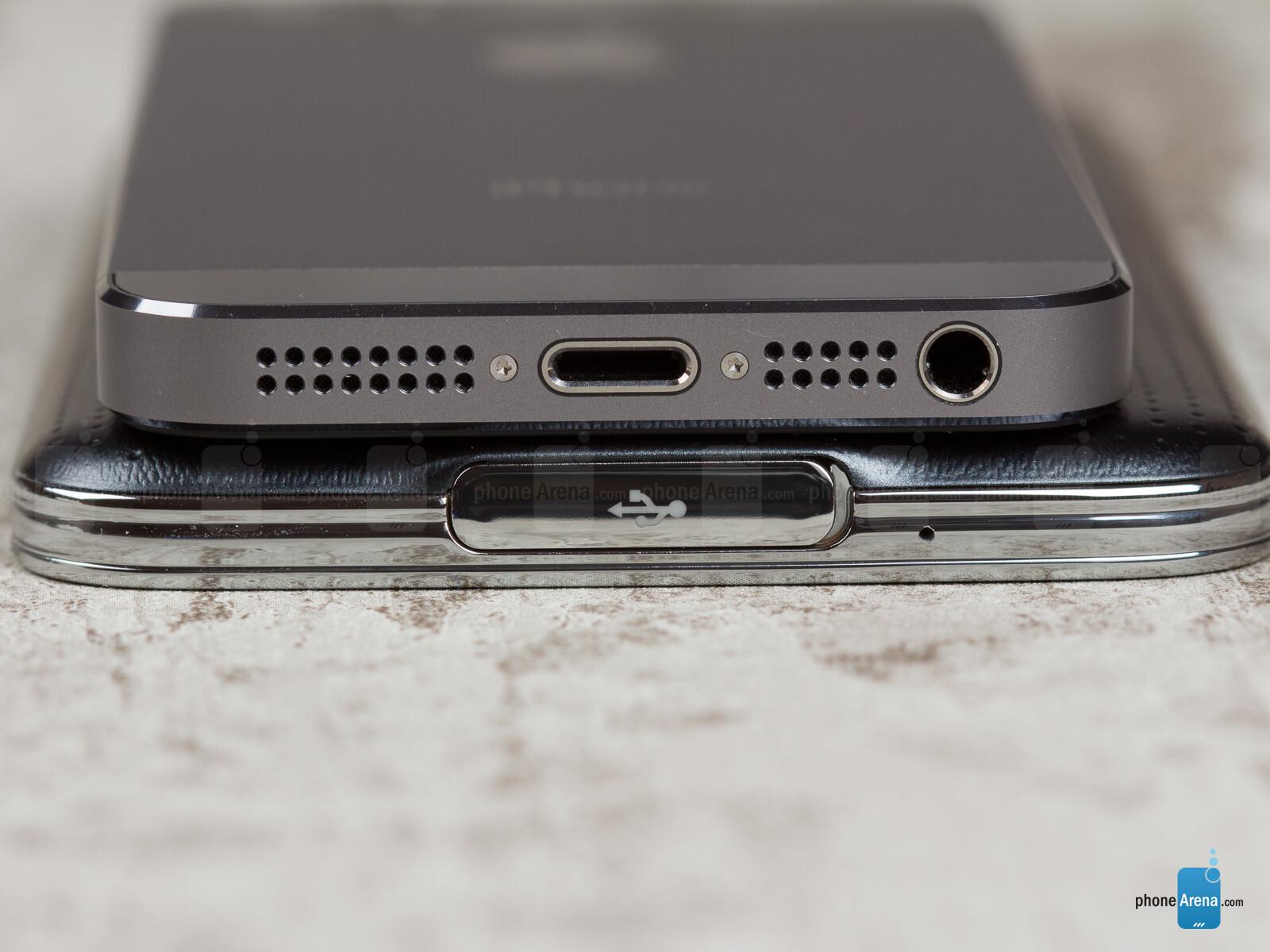 iphone 5s vs samsung galaxy s5 phonearena