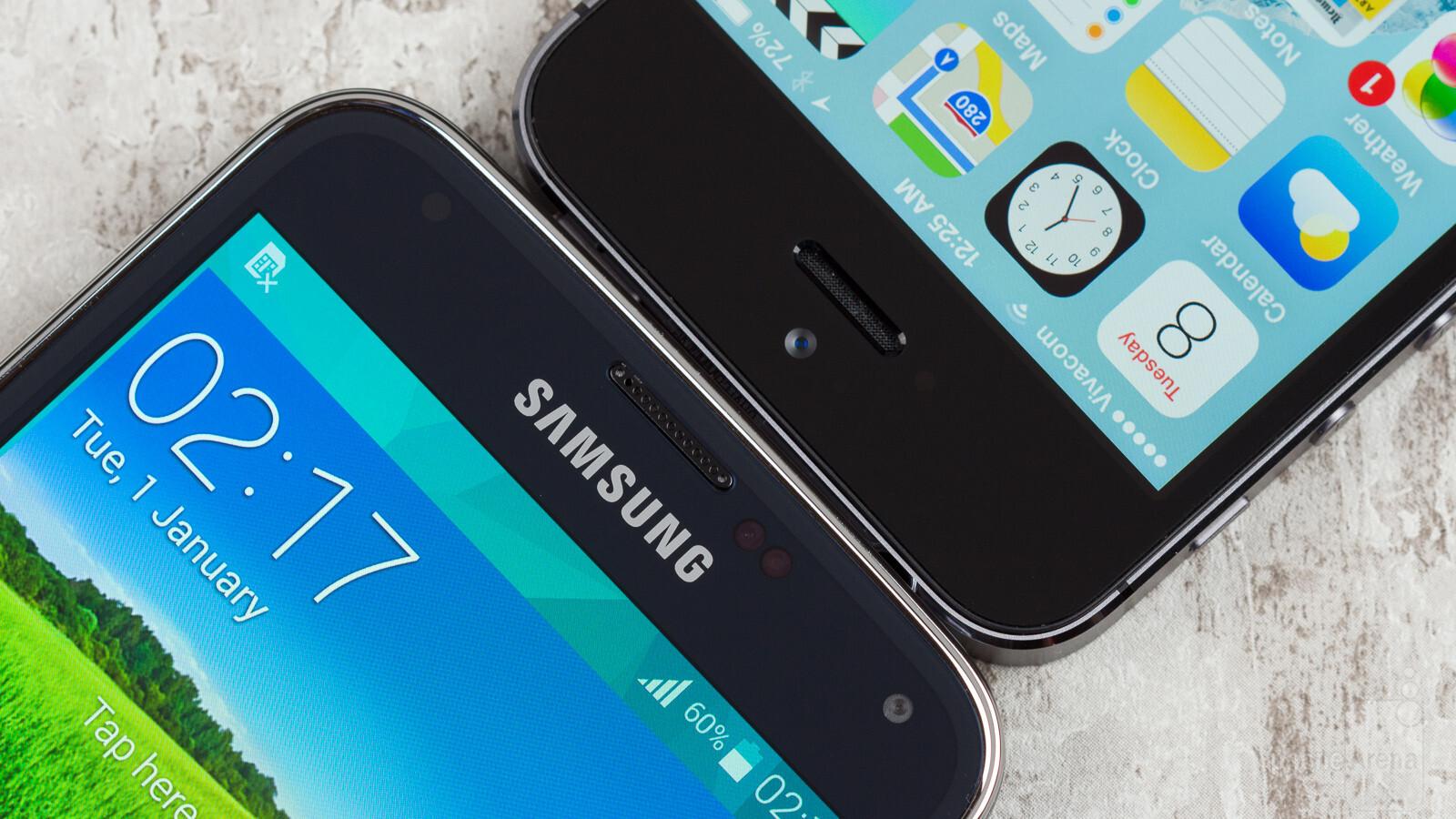 1fc9839e500 Samsung Galaxy S5 vs Apple iPhone 5S - PhoneArena