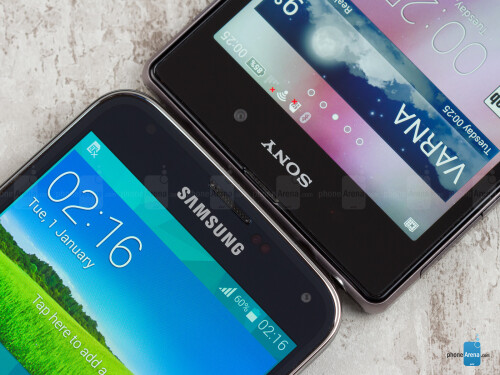 Samsung Galaxy S5 vs Sony Xperia Z1