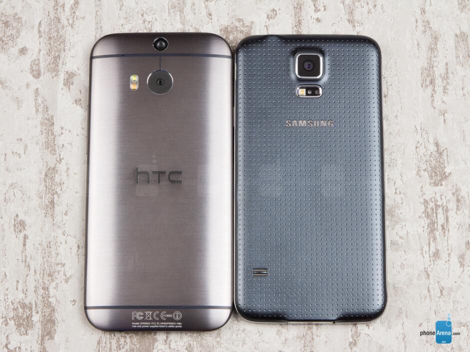 Samsung Galaxy S5 vs HTC One (M8)