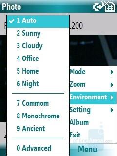 Camera interface - i-mate SPL Review