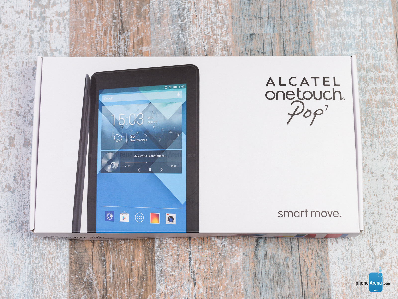 Alcatel OneTouch Pop 7 Review - PhoneArena