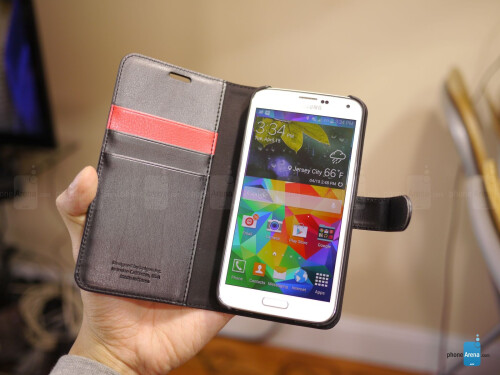 Spigen Samsung Galaxy S5 Wallet S Case Review