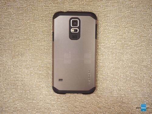 detailed look 29a0f 5747f Spigen Samsung Galaxy S5 Tough Armor Case Review - PhoneArena