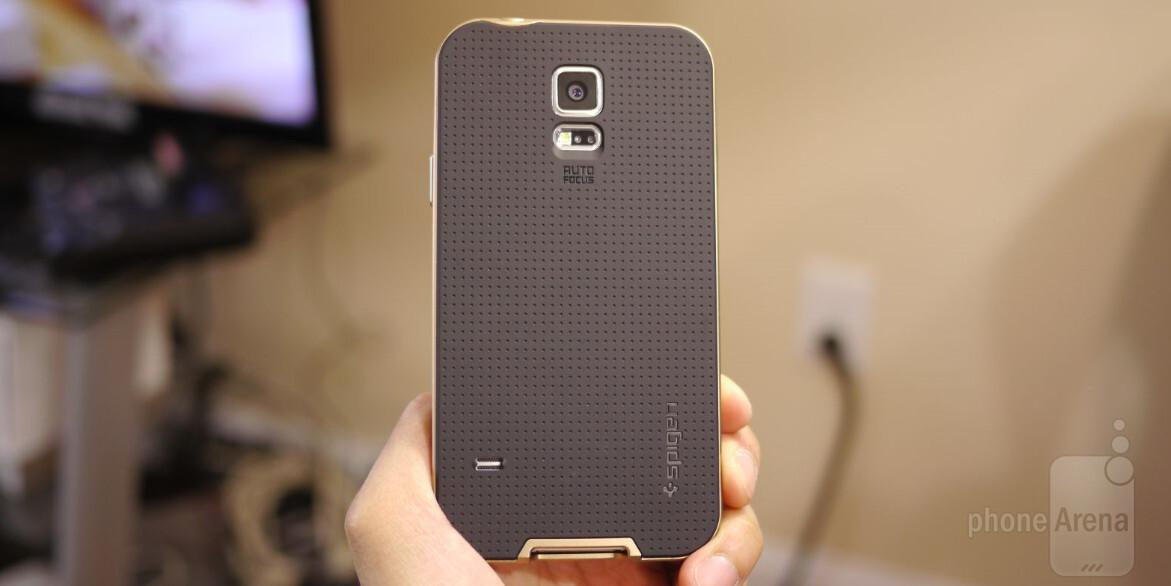 huge selection of e7f6b 3b7e9 Spigen Samsung Galaxy S5 Neo Hybrid Case Review - PhoneArena