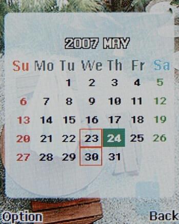 Calendar - Latte Slim11b Review