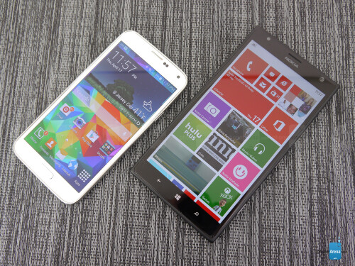 Samsung Galaxy S5 vs Nokia Lumia 1520