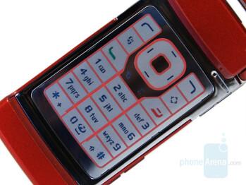 Keypad - Nokia N76 Review