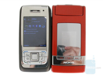 Nokia N76 compared to Nokia E65 - Nokia N76 Review