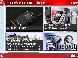 Landscape view - Nokia N76 Review