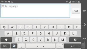 Keyboards - Sony Xperia Z2 vs HTC One (M8)