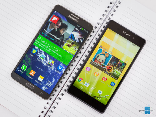 Sony Xperia Z2 vs Samsung Galaxy Note 3