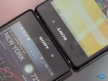 Xperia Z2 - right, Xperia Z1 - left - Sony Xperia Z2 vs Sony Xperia Z1