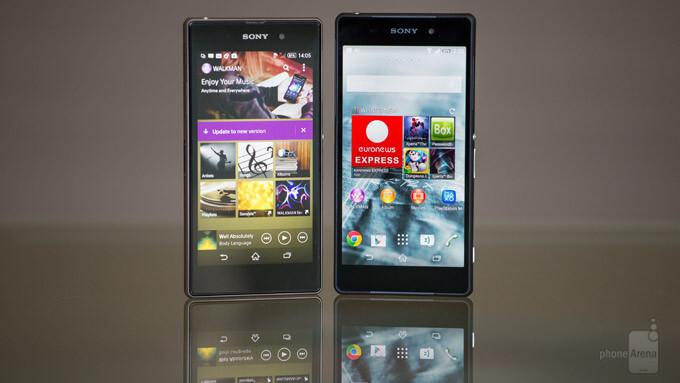 Sony Xperia Z2 vs Sony Xperia Z1