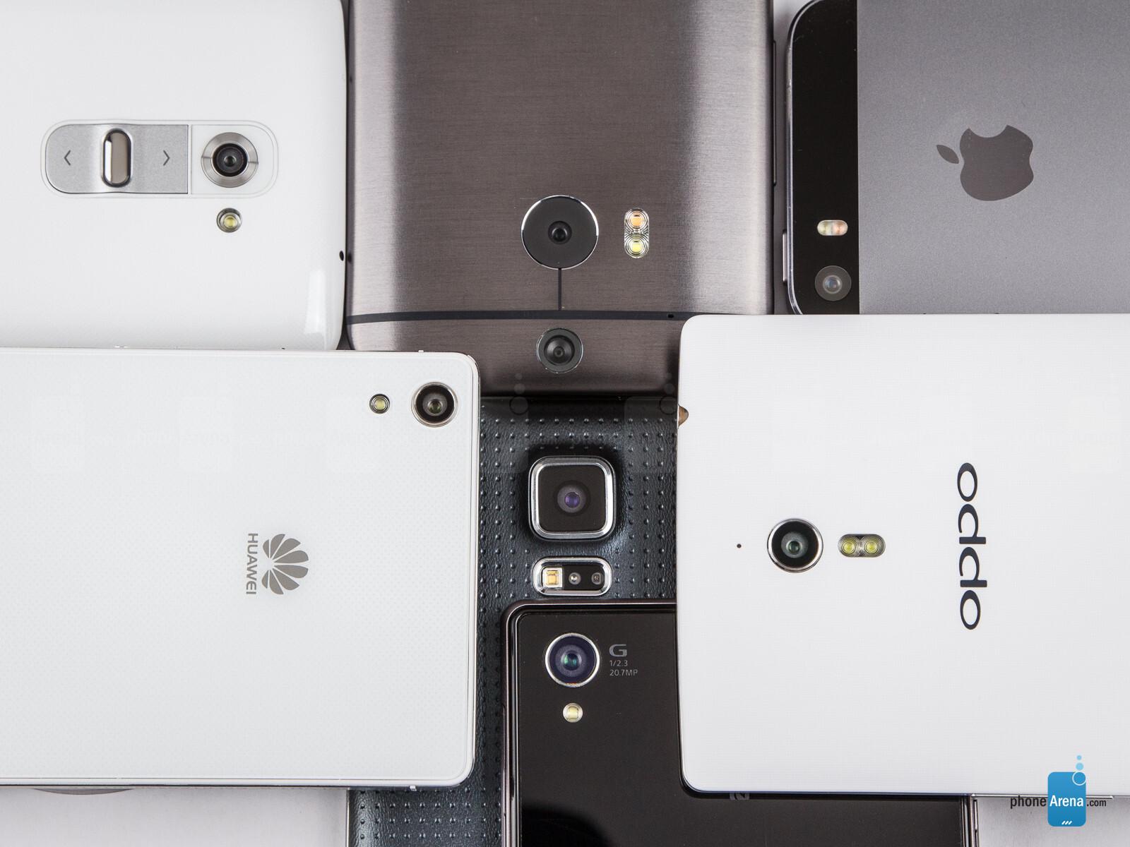 Camera comparison: Huawei Ascend P7 and Oppo Find 7a vs ...