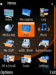 Main menu - Nokia N75 Review