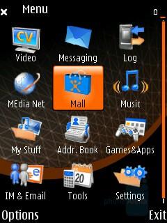 Main menu - Nokia N75 Review