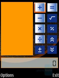 Calculator - Nokia N75 Review