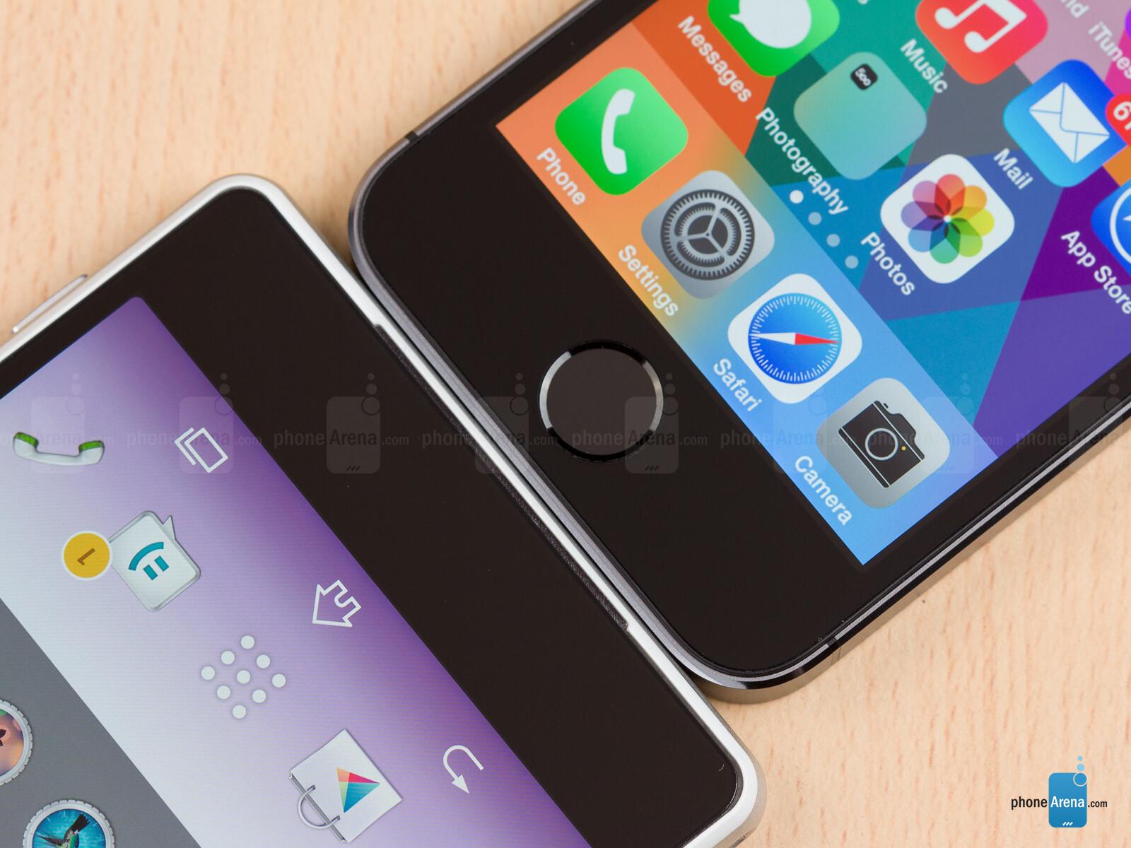 Sony Xperia Z2 vs Apple iPhone 5s 05