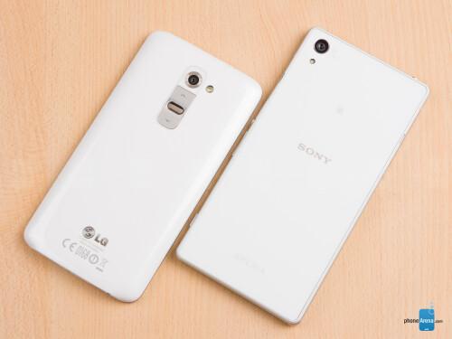 Sony Xperia Z2 vs LG G2