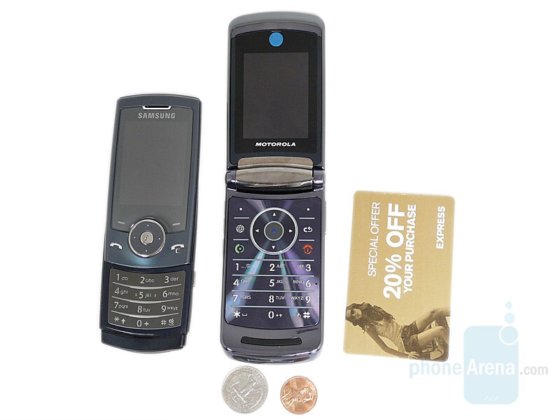 Motorola RAZR2 V8 compared to Samsung SGH-U600 - Motorola RAZR2 V8 Preview