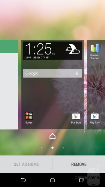 The HTC One mini 2 gets treated to the HTC Sense 6.0 UI - HTC One mini 2 vs HTC One (M8)