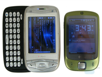 HTC Touch compared to T-Mobile MDA - HTC Touch Review