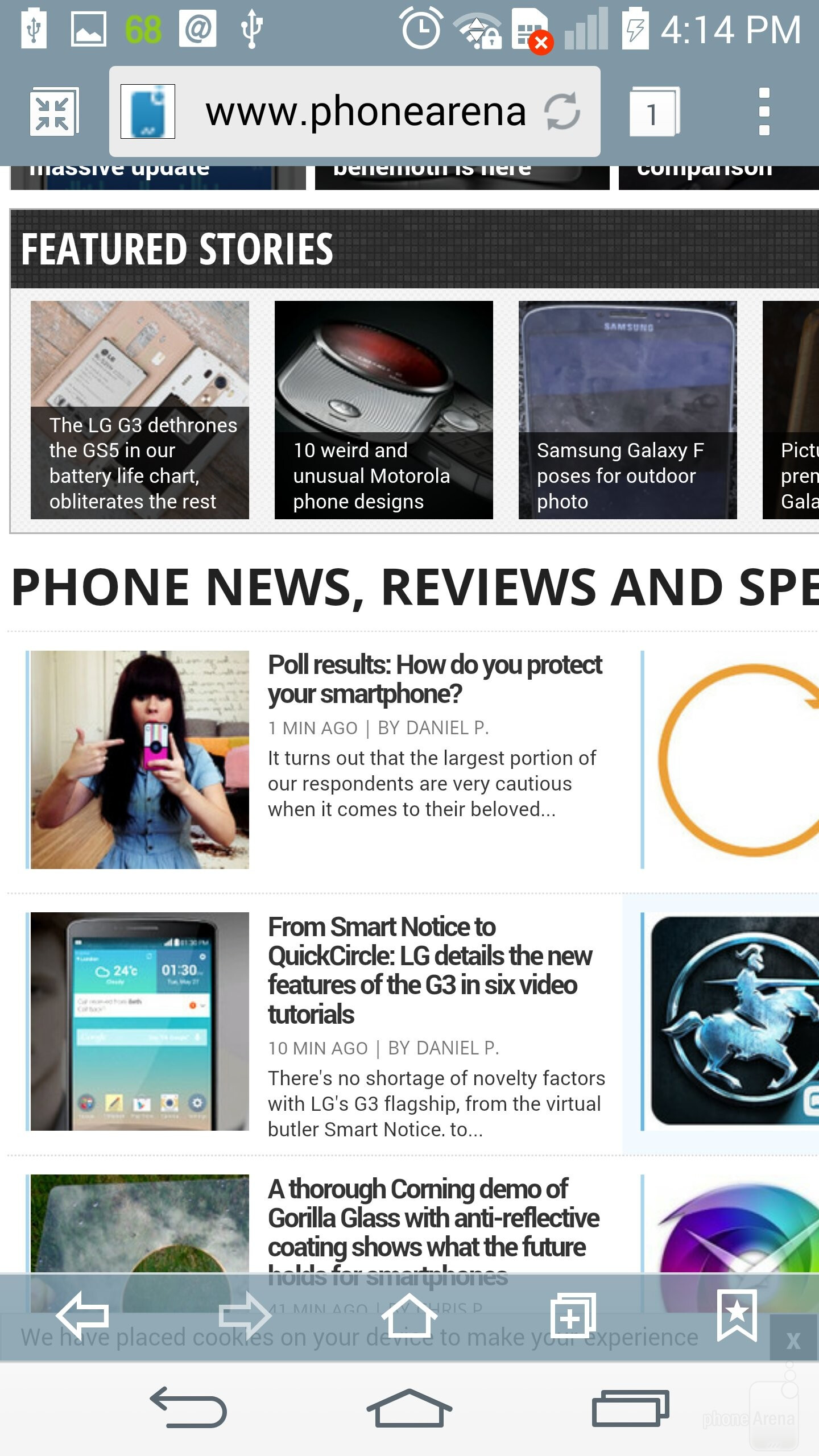 Lg G3 Review Interface And Functionality