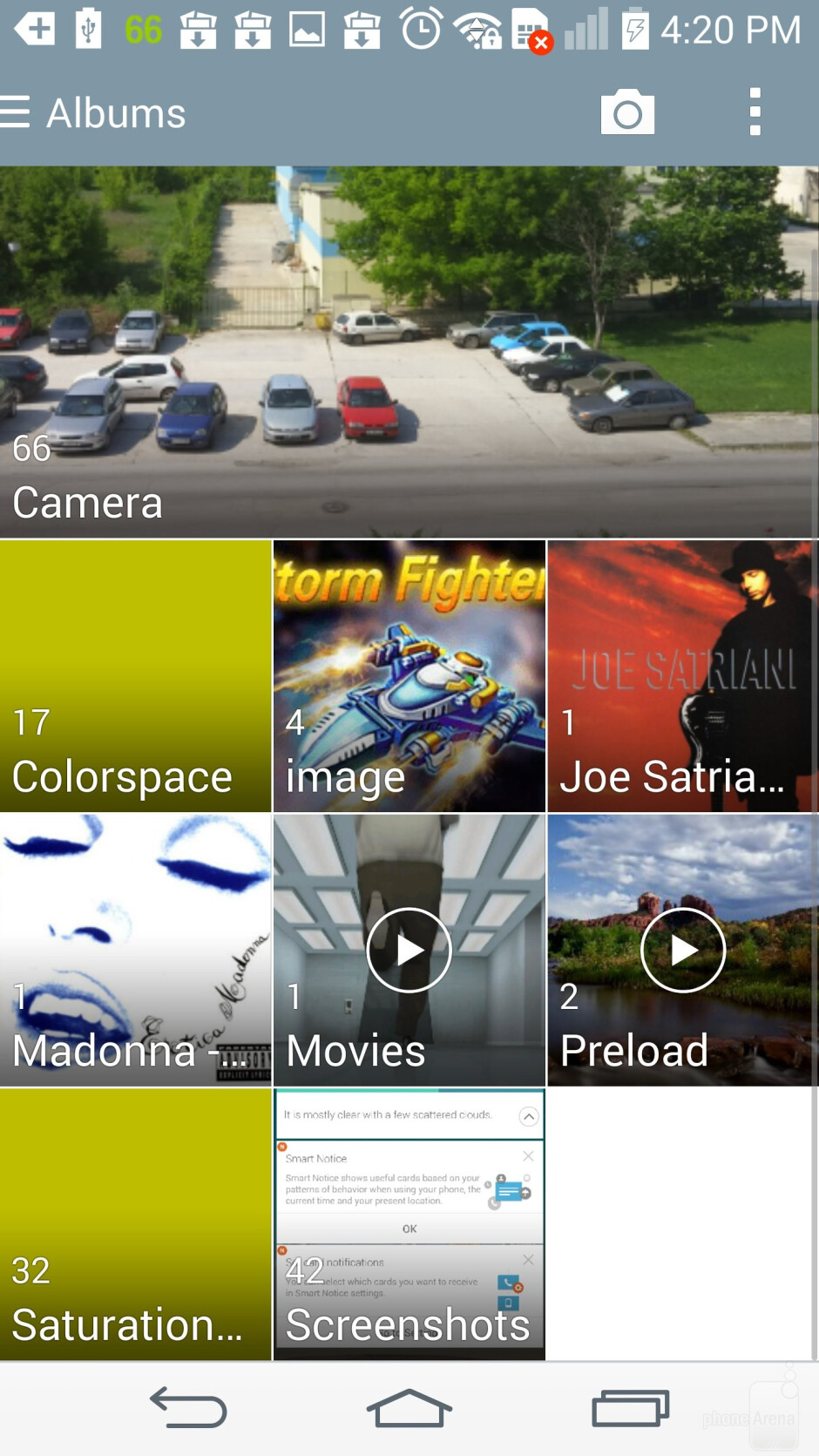 Gallery app - The multimedia experience on the LG G3 - LG G3 vs Samsung Galaxy S5