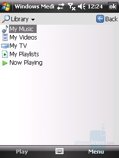 Windows Media Player - HTC Touch Review