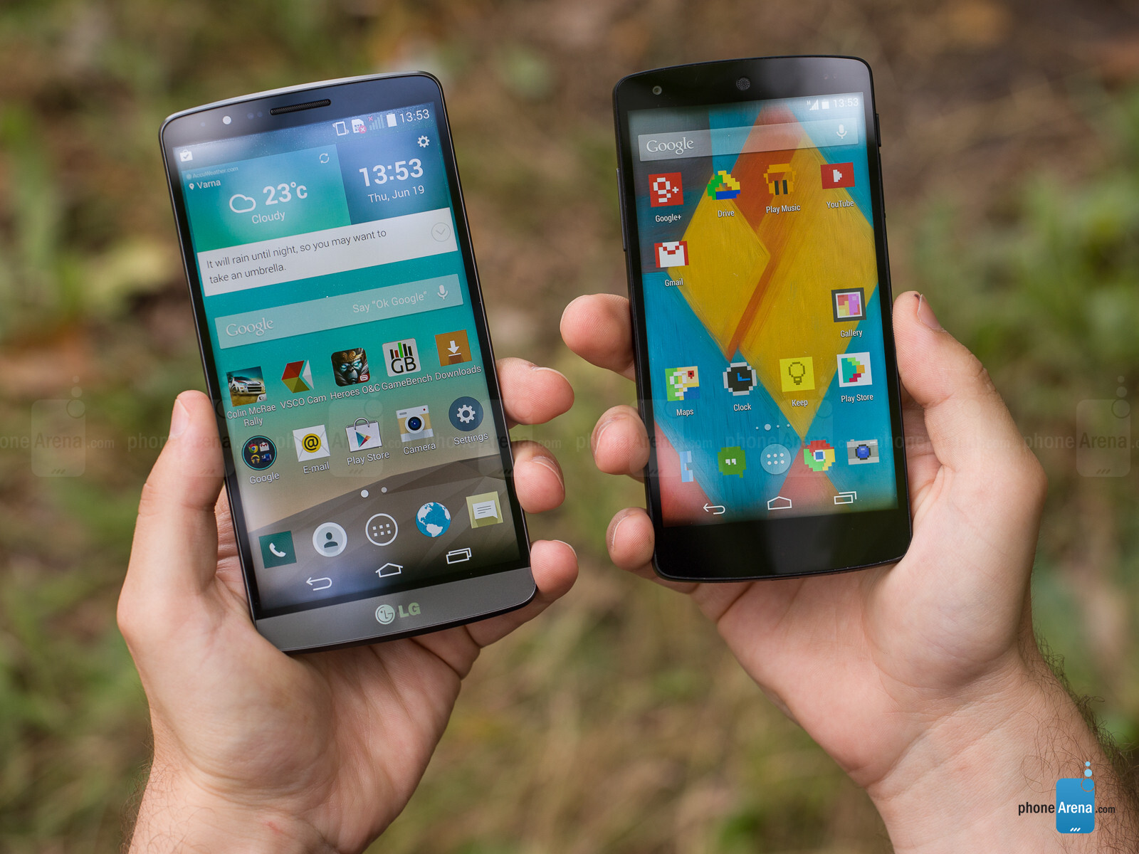 The Nexus 5 vs. the HTC One | Android Central