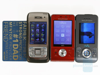 E65-W910-W580 (left-to-right) - Sony Ericsson W910 Preview