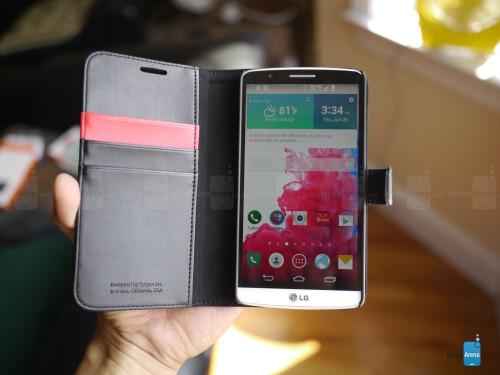 Spigen Case Wallet S for LG G3 Review
