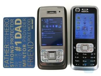 Nokia 6120 Classic compared to Nokia E65 - Nokia 6120 Classic Review